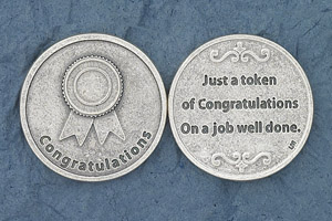 25-Pack - Congratulations Coin