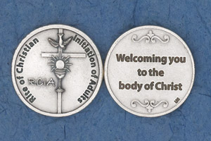 25-Pack - RCIA- Rite of Christian Initiation of Adults Coin