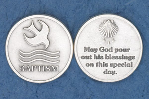 25-Pack - Baptism Coin
