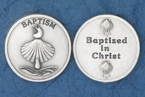 25-Pack - Baptism-Baptized in Christ Coin