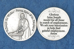 25-Pack - St Joseph the Worker Coin
