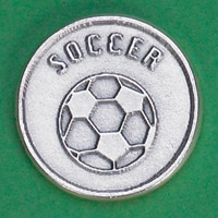 25-Pack - Sports Token with Soccer Ball- Never Give Up, Champions Never Quit