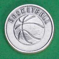 25-Pack - Sports Token with Basketball- Never Give Up, Champions Never Quit