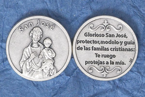 25-Pack - Silver Plated Token - Spanish San Jose