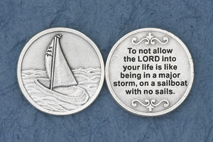 25-Pack - To not allow the Lord into your life - Silver Plated