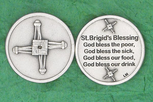 25-Pack - Irish Coin - St Brigid's Blessing