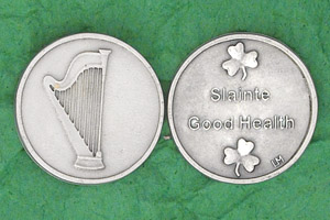 25-Pack - Irish Coin - Good Health