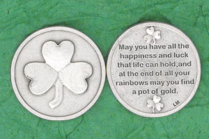 25-Pack - Irish Coin - May you have all the happiness and luck