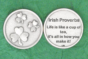 25-Pack - Irish Coin - Irish Proverb