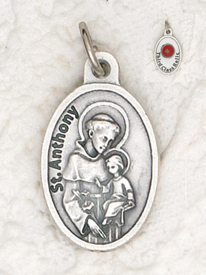 25-Pack - St Anthony Pendant with Third Class Relic on back