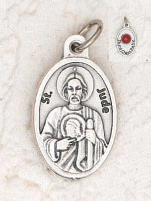 25-Pack - St Jude Pendant with Third Class Relic on back