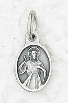 50-Pack - Bracelet Size Divine Mercy Pendant