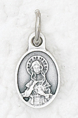 50-Pack - Bracelet Size Pendant of The Immaculate Heart of Mary