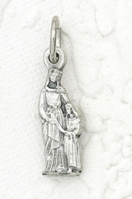 25-Pack - St Anne with Mary Charm- Silver Plated