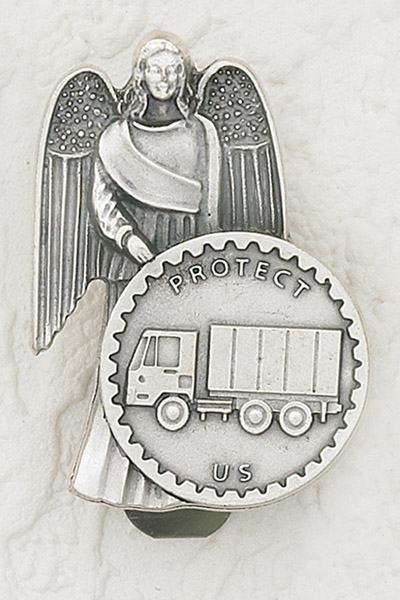 3-Pack - CAR VISOR- Truck with Angel
