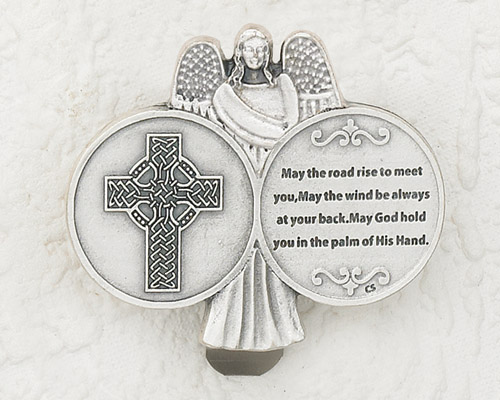 3-Pack - Celtic Cross Visor Clip
