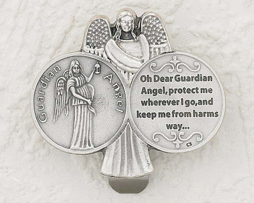 3-Pack - Oh Dear Guardian Angel Visor Clip