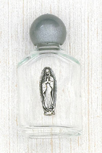 12-Pack - Holy Water Glass Bottle - Guadalupe