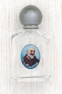 12-Pack - Padre Pio Holy Water Bottle