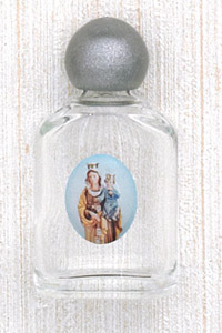 12-Pack - Our Lady of Mount Carmel Holy Water Bottle