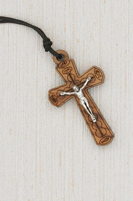 12-Pack - Crucifix with Cord