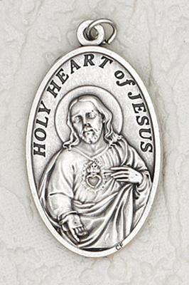 25-Pack - 1-1/2 inch Sacred Heart Pendant