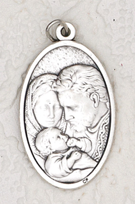 25-Pack - 1-1/2 inch Holy Family Pendant