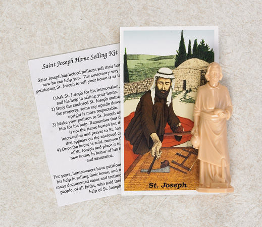 12-Pack - Small St Joseph's Home Selling Kit Includes Prayer and Instructions