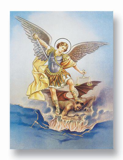 "19""X27"" St Michael Poster"