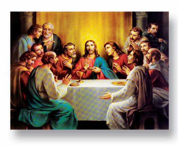 "19""X27"" Last Supper Poster"
