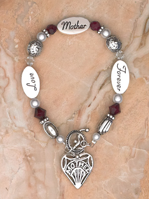 Bracelet- Mother- Love Mother Forever Boxed