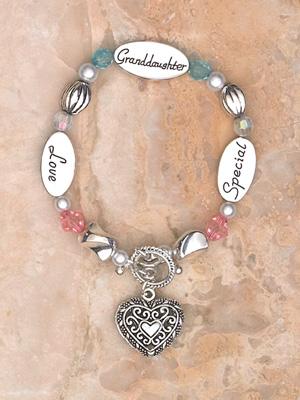 Bracelet- Granddaughter- Special Granddaughter Love Boxed