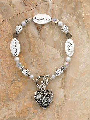 Volunteer Bracelet- Silver Finish