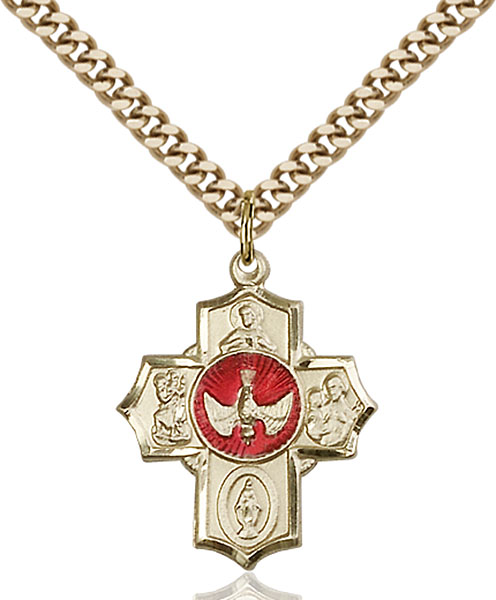 Gold-Filled 5-Way Pendant