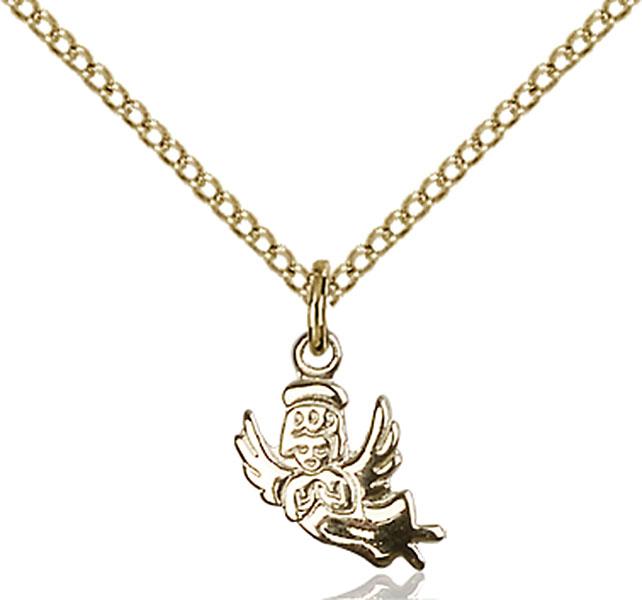 Gold-Filled Angel Pendant