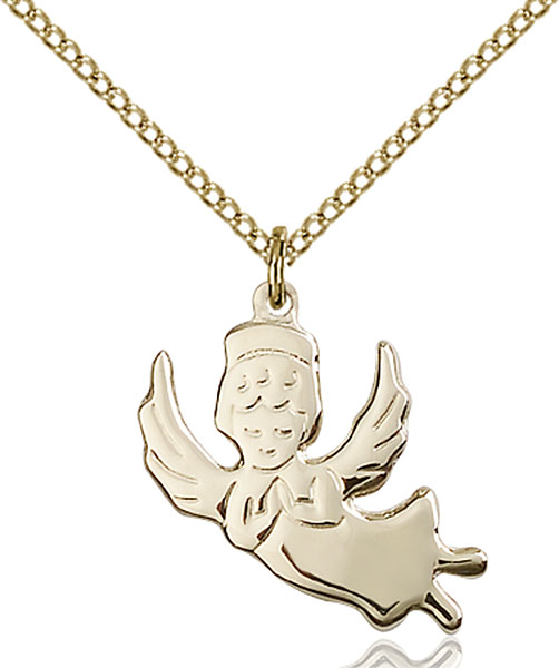 Gold-Filled Angel Pendant