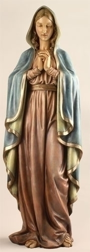 37.5-inch Praying Madonna Fig