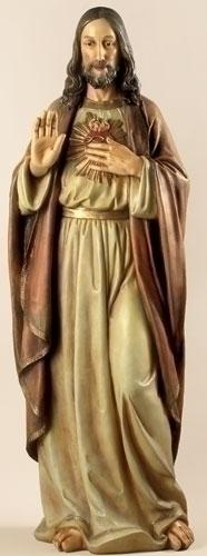 37.5-inch Sacred Heart Of Jesus Fig