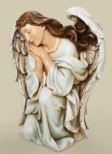 39-inch Scale Color Kneeling Angel