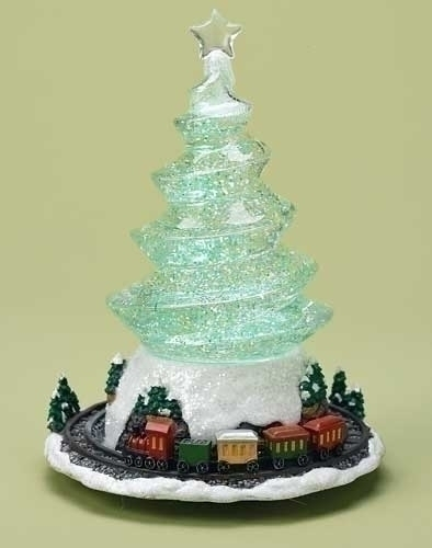 10-inch Swirl Tree With Revolve Train