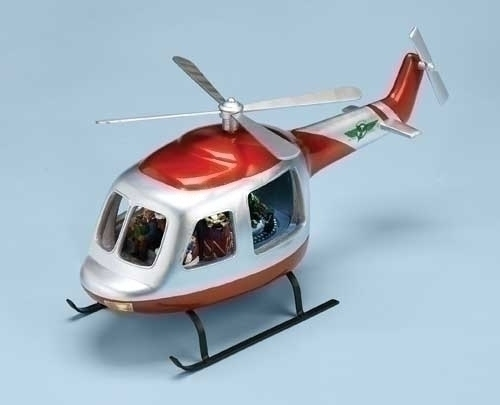 Musical 17-inch Helicopter Figure