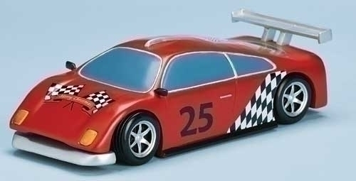 Musical 10-inch Race Car With Track&Santa