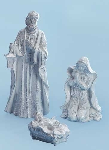 3Pc St 18-inch Iced Holy Family