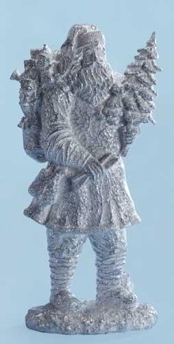 20-inch Iced Santa Figure