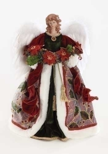 16-inch Wine Angel Treetopper