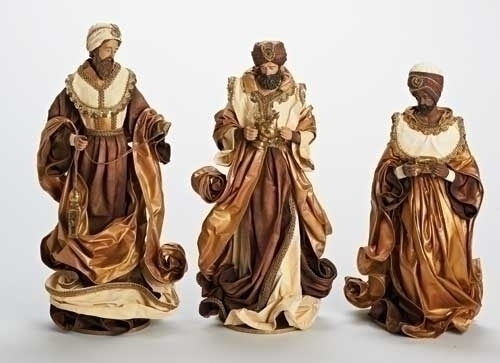 3Pc St 17.5-inch Three Kings Figure
