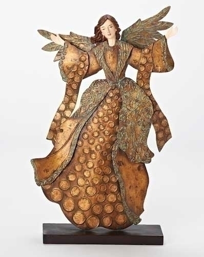 18.5-inch Metal Angel Figure