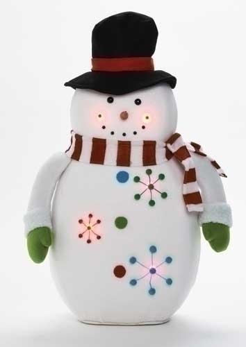 23-inch LED Snowman Figure