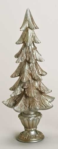 20-inch Champagne Christmas Tree Fig
