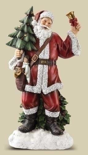 30-inch Santa Ringing Bell Slim